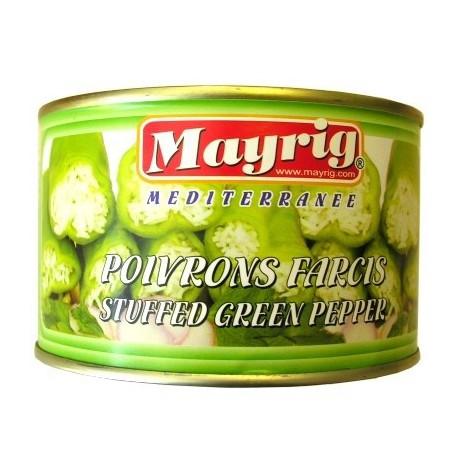 poivrons farcis mayrig 1/2 poids net :420 gr