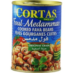 fouls medammas - feves cortas (qualité premium) 420 gr