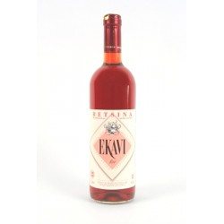 ekavi retsina rosé 75 cl - vin Grec