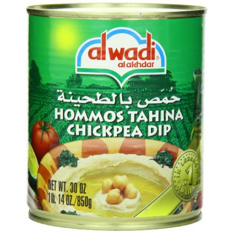 hommos Alwadi 850gr (hommous) - purée de pois chiches