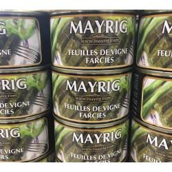 feuilles de vigne farcies au riz Mayrig sarma dolma 1/2 poids net : 410 gr
