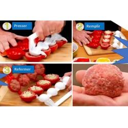 Moule à Bomba Keufté - ou Porov Keufté - Machine à fabriquer des boulettes farcies -