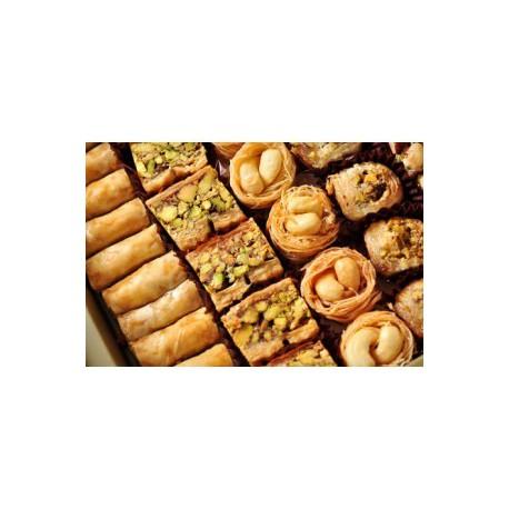 baklava assortiments poids net : 200g