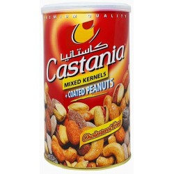 Mélange Apéro Mix 450g Castania rouge - Pistaches, amandes cajoux, cacahuètes, krikri ...