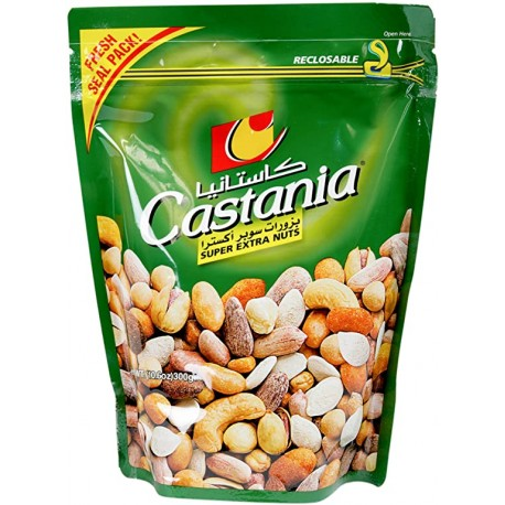 Mélange Apéro super extra nuts 300g - Castania vert