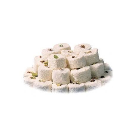 loukoum sultan coco pistaches creme boite poids net : 500 g