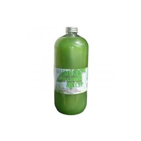 recharge savon d' alep liquide 1l  secrets dorient