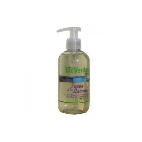 savon liquide bio aux huiles essentielles de lavande certifie ecocert 250 ml pompe