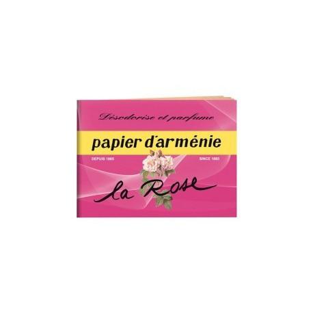 Papier d' Arménie à la rose