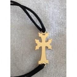 bracelet plaque or croix armenienne - modern khatchkar