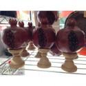 grenade bois sculptee d'armenie