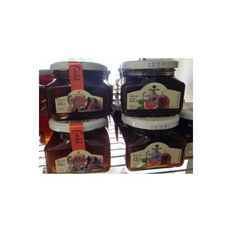 figues entieres d'armenie confites au sirop - poids net 430 gr