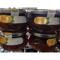 abricots d'Armenie confits au sirop NOYAN - poids net 450gr