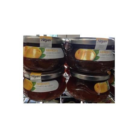 abricots d'armenie confits au sirop - poids net 450gr