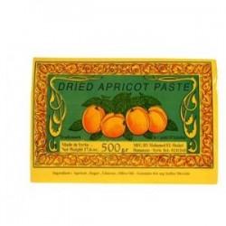 "pate d 'abricot ""pestil""- poids net : 400 gr"