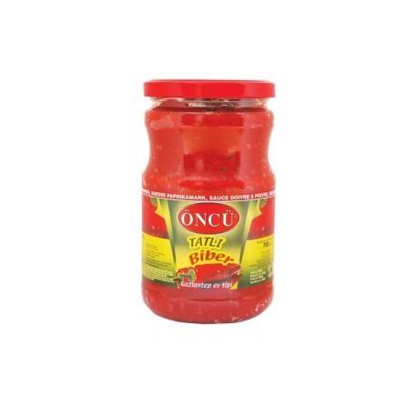 puree de poivron rouge doux - 700 g oncu