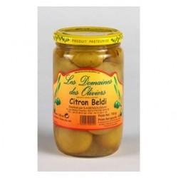 citrons beldi poids net : 700gr