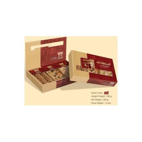 assortiment barazzi, kourabie, mamouls - 380 gr