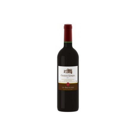 vin rouge chateau kefraya les breteches liban - 13% 75cl